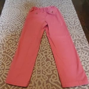 Vineyard Vines boy's pink slacks size 7